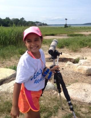 Our youngest Beach Ambassador, Mia Delgado