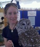 Corrie with a Barred Owl